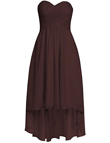 high low bridesmaid dresses canada - 3