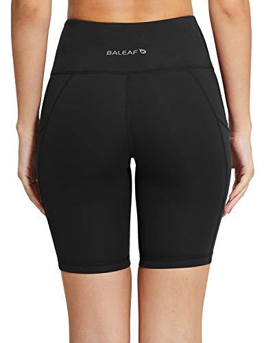BALEAF Women's 8 High Waist Workout Shorts