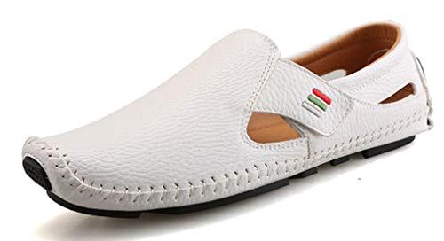 Femaroly Bianco EU 40 Uomo White Slippers SqwrUFSxPT