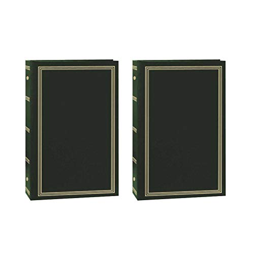 - Pioneer Pocket 3-Ring 4x6 Photo Album (Green/2 Pack)