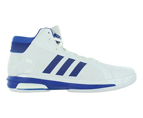 Adidas Sm Futurestar Boost Scarpe Da Basket Uomo Bianco / Blu