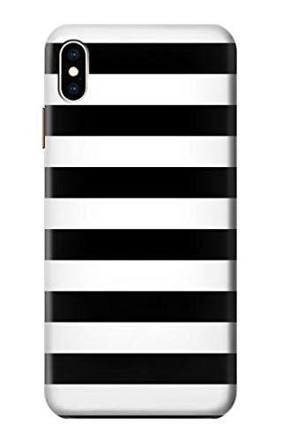 Amazon Com R1596 Black And White Striped Case Cover For