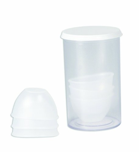 North by Honeywell 24906S Eye Cups, 6 per vial by North