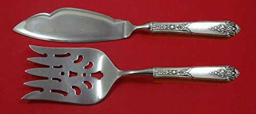 Promise by Royal Crest Sterling Silver Fish Serving Set 2 Piece Custom HHWS