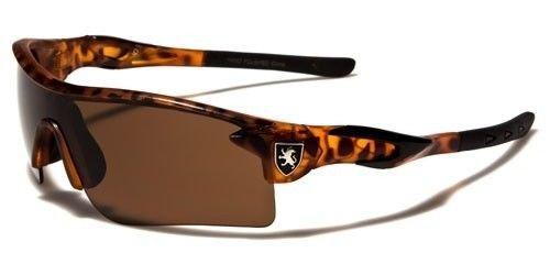 Tortoise Cycling Fishing Golf Wrap Around Sunglasses Running Colored Mirrored - Mirrored Sunglasses Coloured