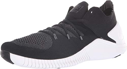 Nike Women's Free TR Flyknit 3 Black/White-Dark Grey 6.0