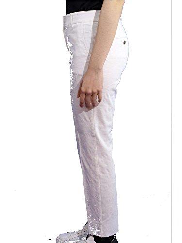 Peserico PO4718-2802 Hose Damen Weiß W72a55M4xr