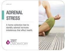 Adrenal Stress Profile - Saliva Test Kit For 5 Hormone Level Imbalances (DS, Cx4) (Stress Test Kit)