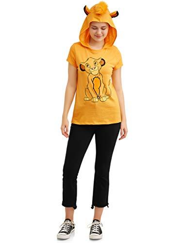 Disney Lion King Juniors' Simba Hooded Tee Shirt  