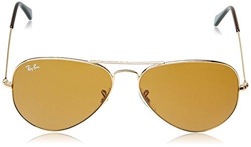 Dorado Sol Ban de Gradient Crystal Brown Silver MOD Ray Gafas amp; Mirror AVIATOR BTY6q