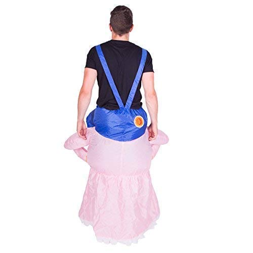 Bodysocks® Disfraz Hinchable de Abuela Adulto: Amazon.es: Juguetes ...