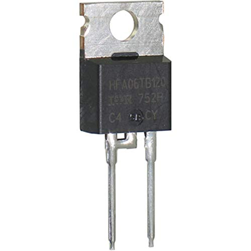 Diode; HEXFRED; 1200V 6A; TO-220AC, Pack of 10 ()