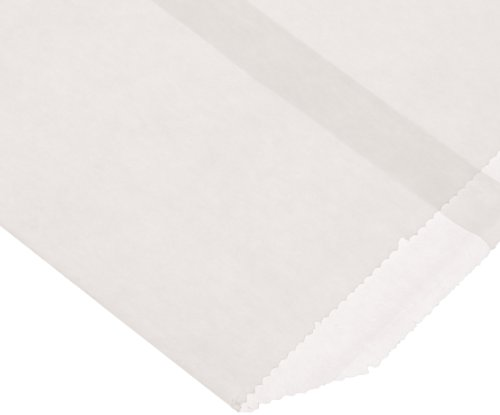 - 100 - Flat Glassine Wax Paper Bags - 4 1/2in x 6 3/4in - (11.4cm x 17.1cm) - Includes JenStampz Top 10 - (Glassine Paper Bags)
