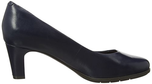 Rockport Women's Total Motion Melora Plain Pump Closed Toe Heels Blue (Blue) manchester great sale sale online cheapest price online uZWDIRAF