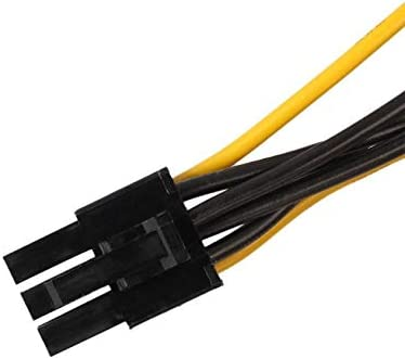 Cable Length: 0.2m Connectors Omeshin New 15Pin SATA Power to 6Pin PCIe PCI-e PCI Express Adapter Cable for Video Card 17Aug03