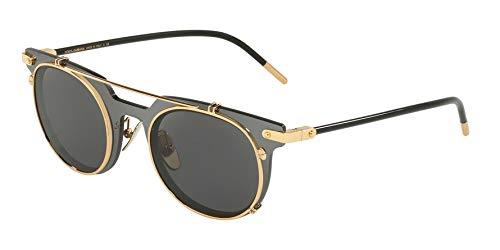 Dolce & Gabbana Men's 0DG2196 Grey/Gold/Grey One Size (Dolce Und Gabbana Sport-tasche)