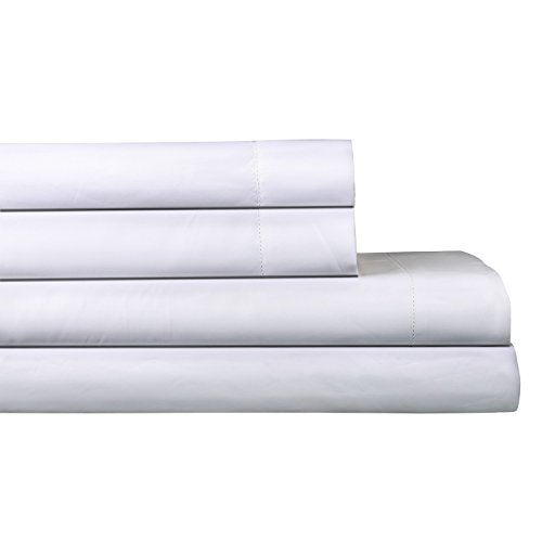 - AURAA Elegance 800 Thread Count 100% American Supima Long Staple Cotton Sheet Set,4 Pc Set, King Sheets Sateen Weave,Hotel Collection Soft Luxury Bedding,Fits Upto 18