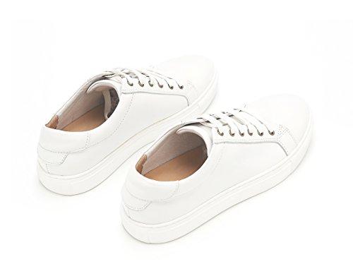 Leather Adult Skate Sneaker Shoes Basic Men amp; White Women Tortor 1bacha pxF6B6