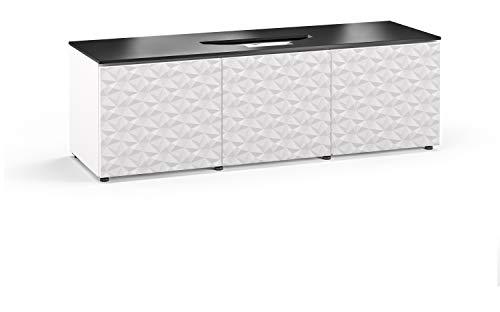 Salamander Chameleon Milan 237 Cabinet for Integrated Vivitek 763,765,768 Projectors - White/Black Top UST Projector Integrated Cabinet