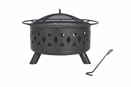 Legacy Heating COD-WD-28 FIRE Pit, 50lb, BLACK