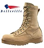New Made in US 790 G Belleville GI Desert Tan Military Army Combat Waterproof Goretex Temperate Flight Boots (13 Wide)