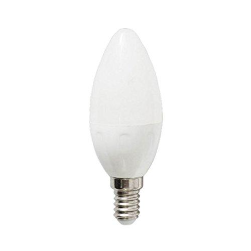 Aigostar 175856 - Bombilla LED C37, tipo vela, de 4 W, rosca pequeña y luz fría: Amazon.es: Iluminación