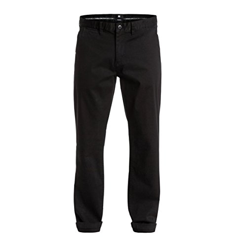 DC Shoes Mens Shoes Worker Straight Fit Chino 32