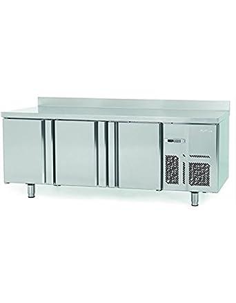 Infrico bmgn1960 refrigerado Prep contador, 3 puerta: Amazon.es ...