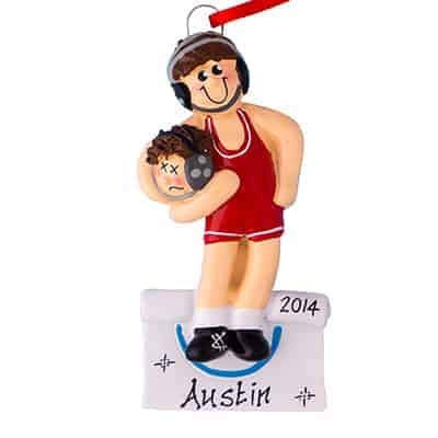 Wrestling Personalized Ornament ...