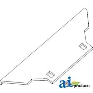 Amazon Ai Products Wear Plate Parts Replacement For John. Ai Products Wear Plate Parts Replacement For John Deere Part Number H153157. John Deere. John Deere 14t Baler Pto Shaft Diagram At Scoala.co