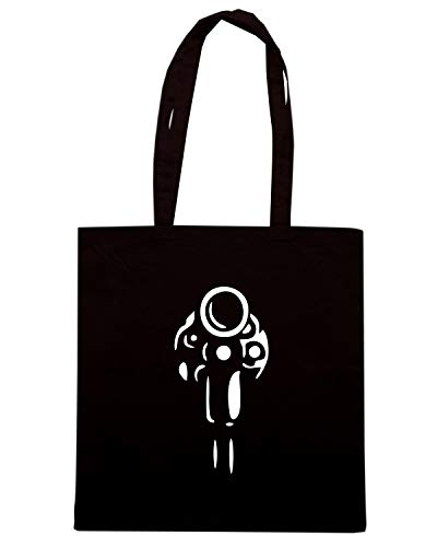 Borsa PISTOL TM0471 Shopper Shirt Nera Speed zw07BY