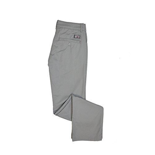 Lapco FR L-PFRACGY 10RG Ladies FR Advanced Comfort Uniform Pants, 88% Cotton, 12% Nylon, 7 oz, 10RG, Gray by Lapco FR