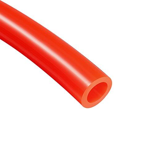 uxcell 10mm X 6.5mm Pneumatic Air PU Hose Pipe Tube 5 Meter 16.4ft Orange (Air Hose Orange)