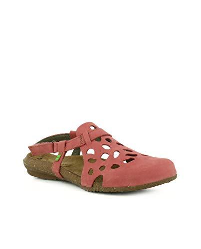N5063 Sandalo Pleasant Velcro Sandali wakataua El Donna Rosa Naturalista gq6nwCazU
