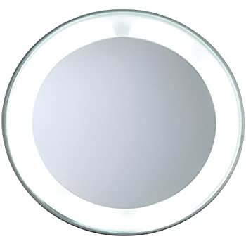 Amazon Com Tweezerman Led 15x Lighted Mirror Personal