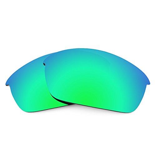 Revant Polarized Replacement Lenses for Oakley Flak Jacket Emerald Green - Jacket Green Flak