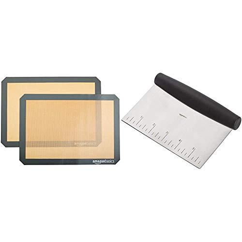 🥇 AmazonBasics – Tapete de silicona para hornear