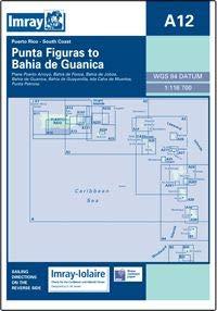 Imray A12 Punta Figuras to Bahia De Guanica Marine Nautical Chart