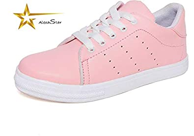 0662162c0d Image Unavailable. Image not available for. Colour  AlexaStar Latest  Collection Comfortable   Fashionable Sneakers Shoes for Women s and Girl s