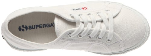 Superga 2950 Cotj - Zapatos de punta redonda con cierre de cordón White
