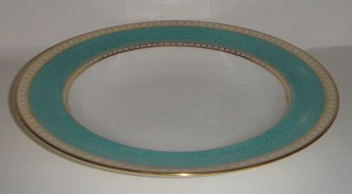 Wedgwood Ulander Powder Turquoise Large Rim Soup Bowl - Wedgwood Ulander Powder