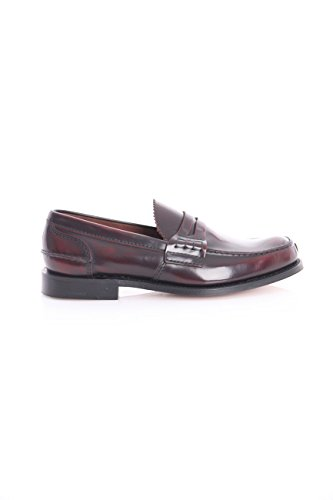 Taglia Uomo 5 in Tunbridge Mocassino 6 Burgundy Pelle XwP6qIq1