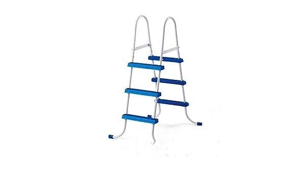 FFKL Escalera Mecánica De Piscina Escalera Mecánica De Doble Cara Equipo De Soporte De Piscina Escalera De Escalera Escalera De Piscina 107CM: Amazon.es: Hogar