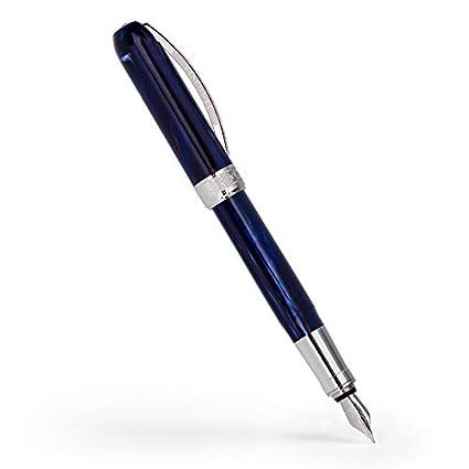 in confezione regalo di pelle colore: blu Penna stilografica Visconti Rembrandt