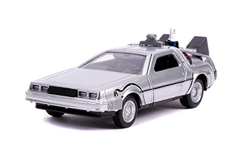 DeLorean DMC (Time Machine) Silver Back to The Future Part II (1989) Movie Hollywood Rides Series 1/ - http://coolthings.us