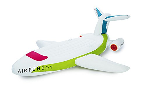 FUNBOY Giant Inflatable Private Jet Pool Float