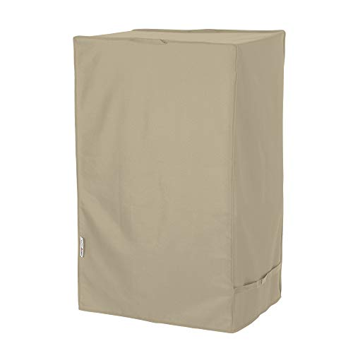UNICOOK Outdoor Smoker Cover with Heavy Duty Waterproof Material, Grill Barbecue Cover for Most Masterbuilt 40 Inch Electric Smokers and More, 23''W x 17''D x 39''H, Desert Sand