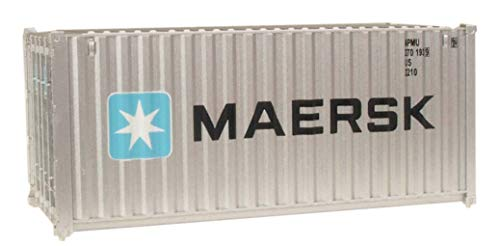- Walthers SceneMaster RS Maersk Container, 20'
