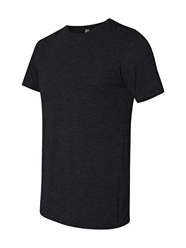 Next Level Apparel 6200 Mens Poly & Cotton Crew Tee - Black44; Extra Large from Next Level Apparel