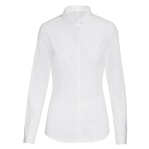 Para Blusa 1 Mujer Seidensticker Blanco weiß 54xnnBX